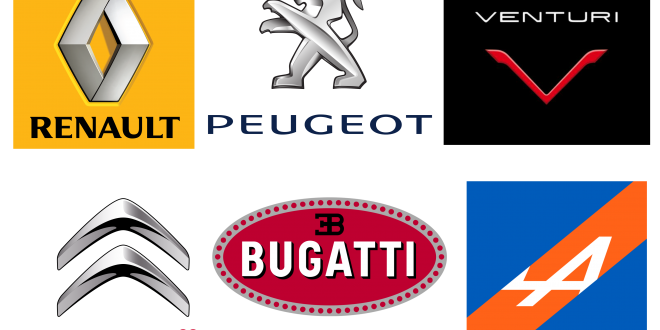 French-car-brands-logotypes