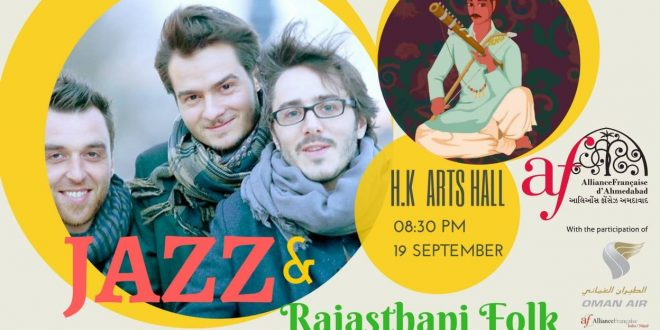 Cinematic Jazz + Rajasthani Folk | Concert this 19th