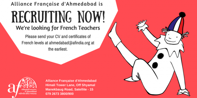 We're recruiting nowFrench teacher