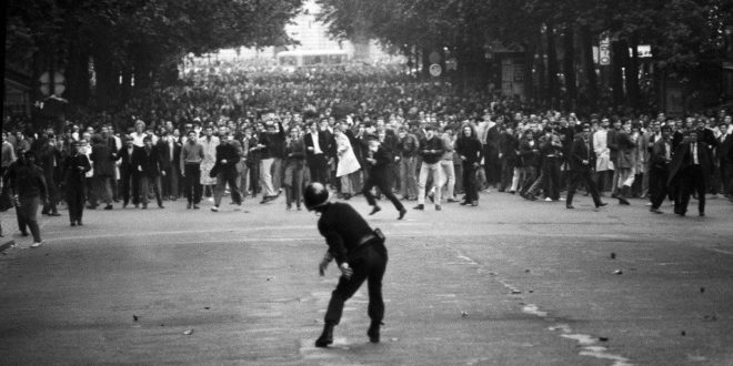 In the heart of Paris, May 68