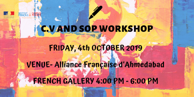 C.V AND SOP WORKSHOP