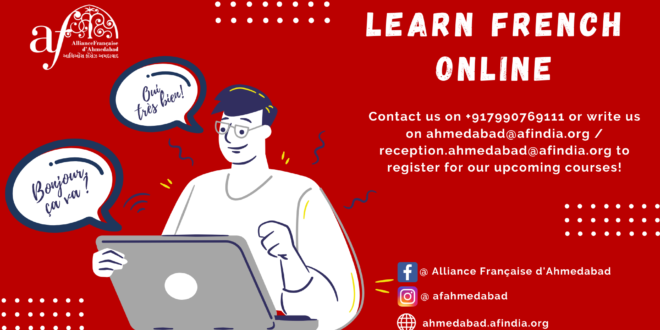 Learn french online with AF Ahmedabad