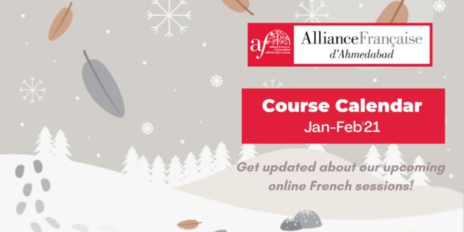 Course Schedule Jan-Feb'21