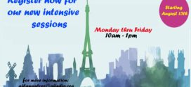 registration open for August intensive courses