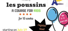 """New course for 5 and 6 years old: register your kids for """"Les Poussins"""" !"""