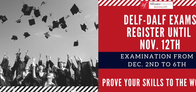 Register today for the DELF-DALF examination
