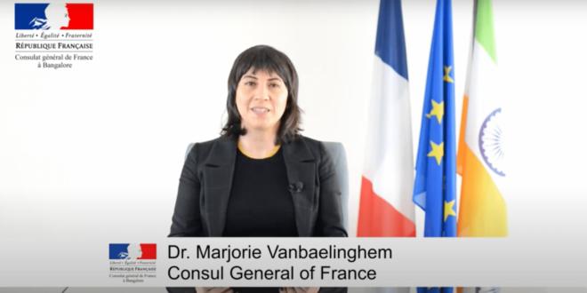 Message de la Consule générale, Mme Marjorie Vanbaelinghem, à l'occasion de la Fete Nationale