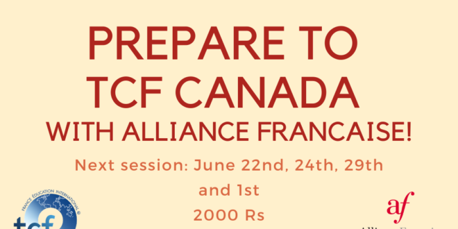 TCF Canada Workshop and Exam