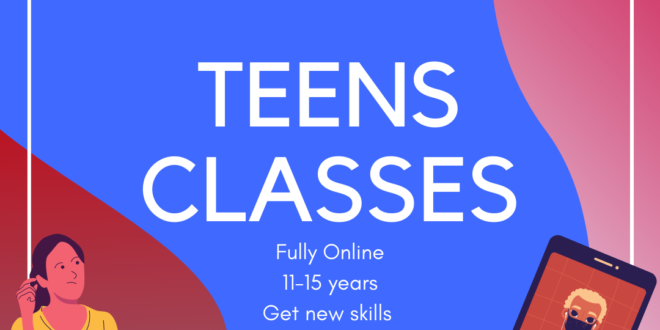 French classes for teens!