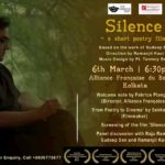 Kolkata Premiere of 'Silence - a short poetry film'