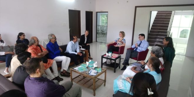 Visit of His Excellence, Mr. Alexandre Ziegler, Ambassador of France to India