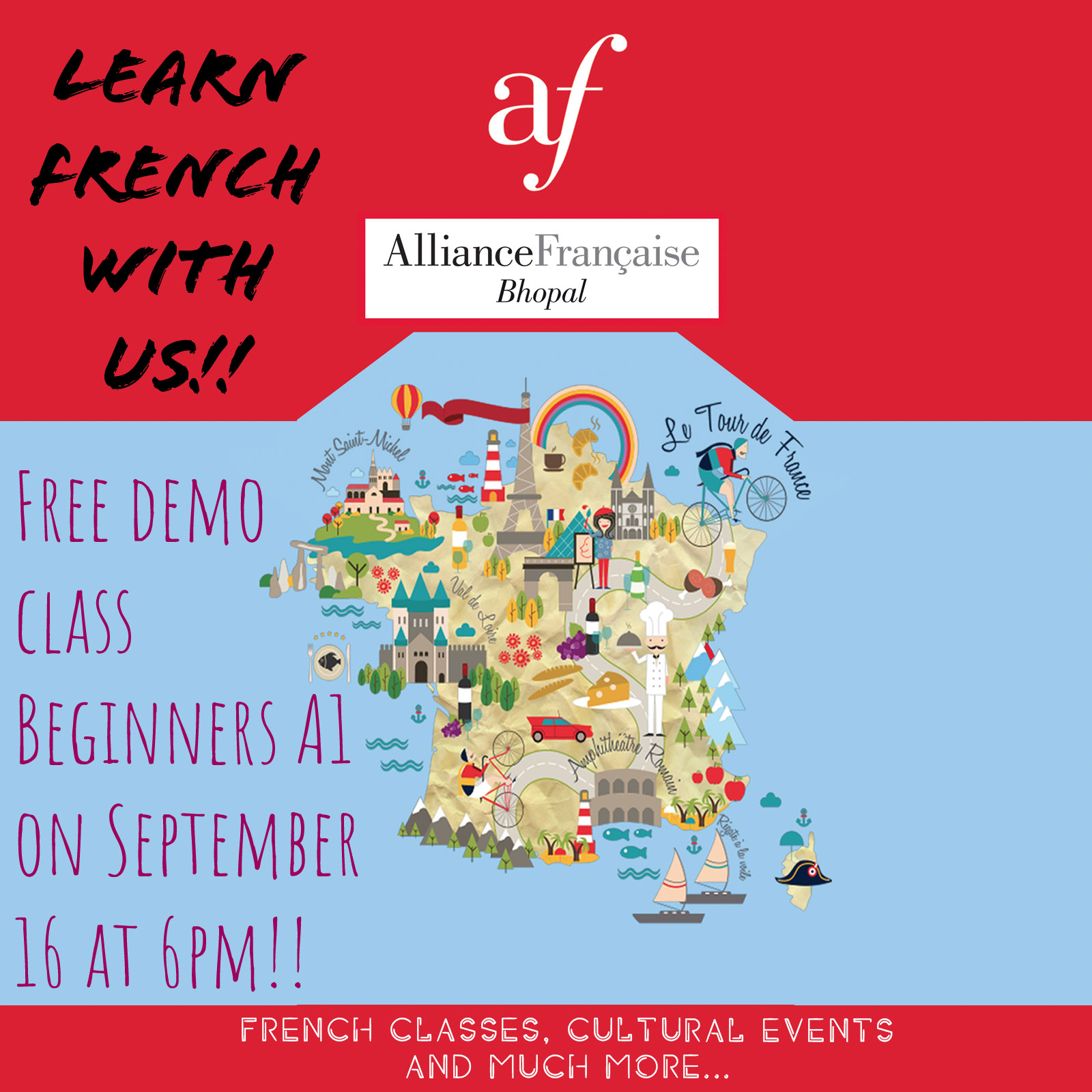 Learn French with us!