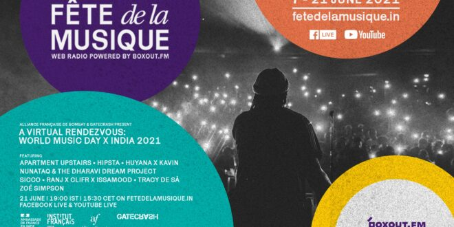 DIGITAL CONCERT | A Virtual Rendezvous: World Music Day x India 2021