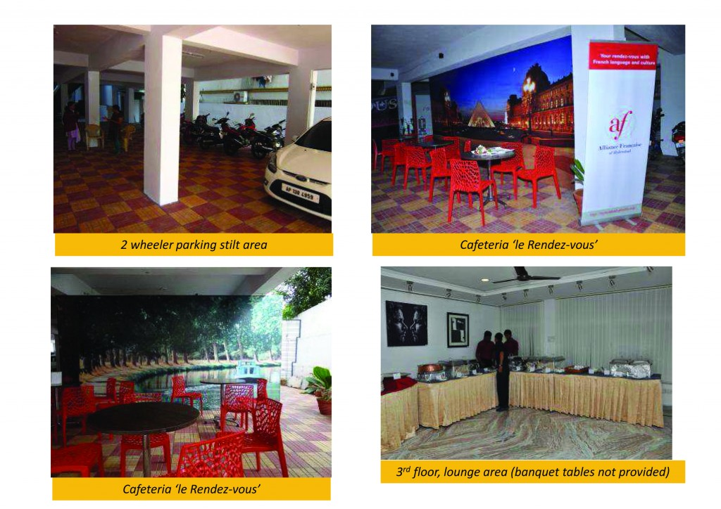 Spaces available Alliance Francaise Hyderabad