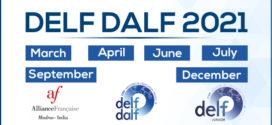 DELF DALF 2021 SCHEDULE