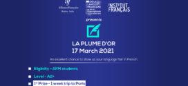LA PLUME D'OR | 17 March 2021