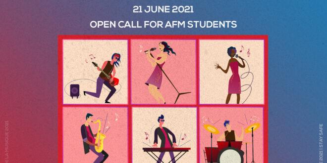 Open call for AFM students | Fête de la musique 2021